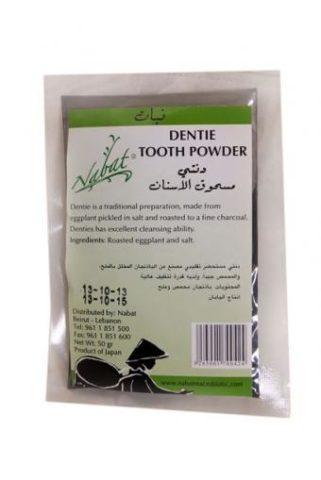 tandpasta poeder dentie