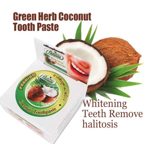 Tandpasta zonder Fluoride met kokos olie